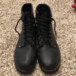 Other - MENS BLACK COMBAT BOOTS